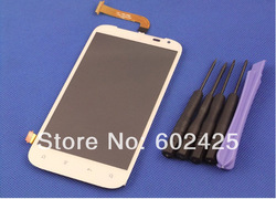 Full LCD Display Screen Touch Digitizer assembly For HTC Sensation XL X315e G21 White Free shipping(China (Mainland))