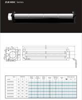 B30090-B30350DC cross flow fan