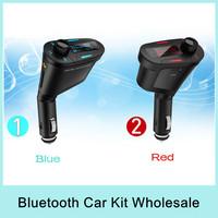 X5 Car Mp3 Player Wireless Bluetooth FM Transmitter Modulator Car Kit Support SD/USB/MMC with LCD Screen NEW 2014 Wholesale