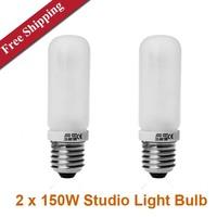 Photo Studio 150w 3200K Flash Model lamp  E27 Studio Light Bulbs  Modeling Lamp for Strobe/Flash  Photography bulbs