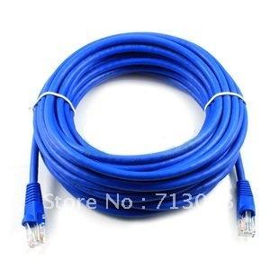 New 10M  CAT5E CAT5 RJ45 Ethernet Internet Network Patch Lan Cable Cord Blue
