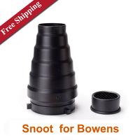 Studio Flash Snoot Honeycomb for Bowens Mount Flash Strobe