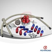 AE STYLE 7MGTE MKIII Fuel Pressure Regulator with hose line kits.Fittings.Gauge