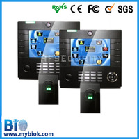 "High Security Fingerprint Time Clock Management & Access Control Device HF-iClock3800 8"" Built in Battery & Camera Wifi GPRS"