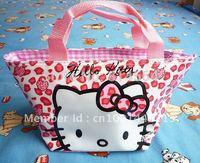 Handbag Hello kitty lunch bag Girls Handbag #88