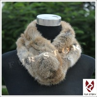 Real rabbit fur scarf wrap cape shawl neck warmer 7colors Christmas gift on-sale