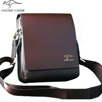 Business & leisure fashion men shoulder bag with 4 sizes,kangaroo messenger bag ,free shipping