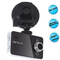 K6000 Car dvr camera Dashcam with HD 1920*1080P 25 fps 2.7 inch TFT screen HDMI free shipping
