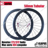 Free shipping Ultra Light 700c carbon wheels 24/38/50/60/88mm Novatec 271/372 carbon road bike wheelset