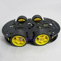 Brand New high quality HC 4WD robot chassis smart cart robot platform with motor