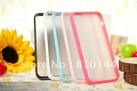 70pcs/lot For iphone5 case,Fashionable High Quality translucence PET+ABS case for iphone5 5G 5GS iPhone 5. EMS FREE