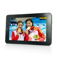 "7"" tablet  inchpc Onda V701 Tablet PC  Amlogic A9 8GB webcams camera 800*480 Metal cover  android 4.0  silve black capacitive"