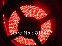 Flexible light 335 side emitting 30LEDS/M 150leds/ Reel Red color IP 65 waterproof 5mm PCB wide