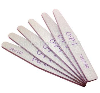 Free Shipping - 10 PCS/Lot Diamond  Nail Art File Buffer Manicure Tools