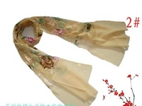 Long section of silk silk scarf women scarves shawls