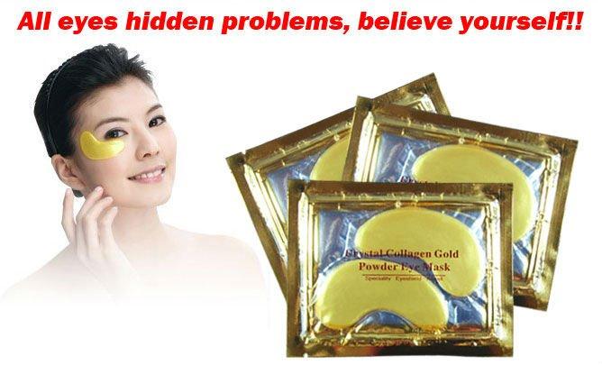 Collagen Eye Pads Pads Gold Power Eye Mask
