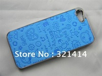 singapore shipping magical girl little witch high quality PU leather hard case cover for iphone 5