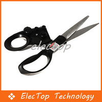 Free shipping Accurately Laser Guided Fabric Scissors 100pcs/lot Wholesale