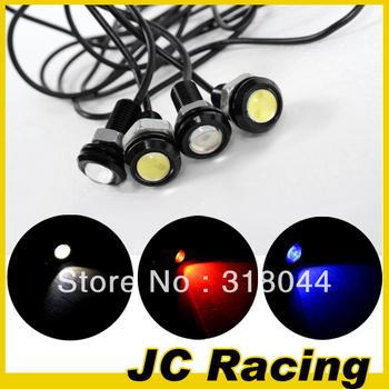 Free Shipping 3W High Power LED Larger Lens Ultra-thin car led Eagle Eye Tail light Backup Rear Lamp Fit any car Universal