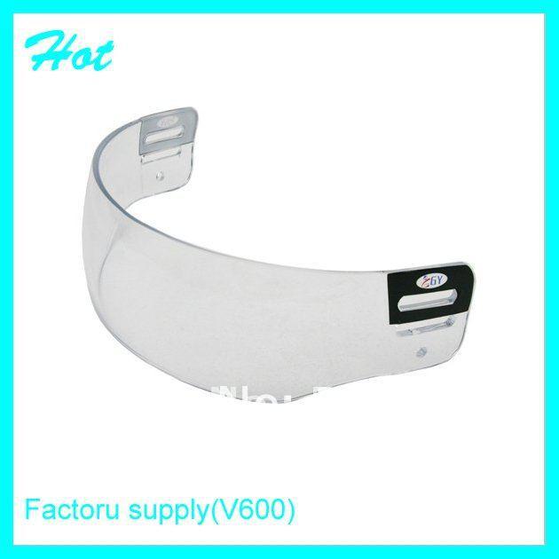 clear visor for ice hockey helmet(China (Mainland))