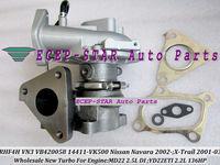 RHF4H VN3 VB420058 14411-VK500 TURBINE TURBO Turbocharger For NISSAN Navara 2.5DI,X-Trail,engine MD22 2.5L;YD22ETI 2.2L 136HP