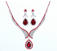 2013 Holiday season -Free Shipping Hot Sale Rhinestone Wedding Jewelry Sets Best Presents For Bride Bridal jewelry sets 2T023