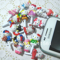 Free shipping // Very Hot and Kawaii Super Dustproof Plug! Mobile Cell Phone  Earphone Dust Plug 16pcs Mixed Style