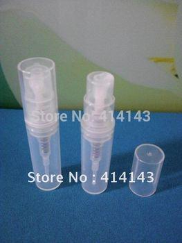 300pc/lot  2ml, 3ml, 5ml,8ml,10ml white plastic spray bottle,small plastic bottle, sample cosmetic perfume bottle