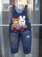 1PC Retails (10-24M) Kids toddlers Baby Jean Romper Boy's &Girl's suspenders Jean Jumpers Pants oVeralls (In stock)