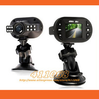 Free Shipping! Newest Mini Size HD 1920*1080P 12 IR LED Car Vehicle CAM Video Dash Camera C600 Recorder Car DVR