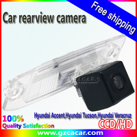 Color CCD/CMD Car Rear View Camera for Hyundai Elantra,Hyundai Accent,Hyundai Tucson,Hyundai Veracruz,Free shipping!