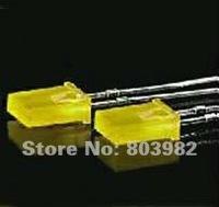 Good quality 2x5x7mm square yellow dip led light emitting diode