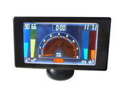 "5"" LCD 6 in1 auto gauge , Multiple Function Auto Modified Meter (LCD5561) tachometer,volts gauges"
