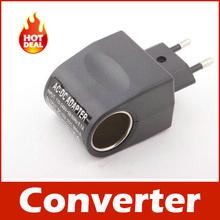 110V-220V AC to 12V DC EU Car Power Adapter Converter(China (Mainland))