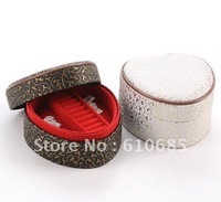 Heart Shape Jewelry Boxes With A Mirror Love Double Layers Mini Jewelry Box 2 Colour K8513-1