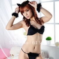 free shipping sexy cat women uniform , sexy halloween uniform, sexy game uniform