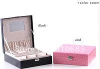 New Jewelry Box Multipurpose Jewelry Storage Boxes Watch Storage Box-Plain Weave K8507