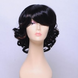 Welcome to buy fashionable elegant short women's wig(China (Mainland))