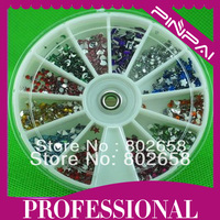 Free Shipping Mix Shapes Nail Art Rhinestone For Nail Tips UV Gel Acrylic System Decoration