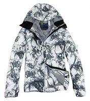 Free shipping 2013 686 mens waterproof snowboarding jacket breathable skiing jacket for men ski suit ski wear anorak white