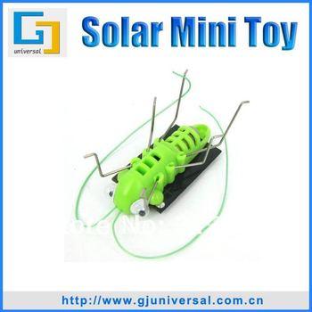 Hotselling Mini Solar Grasshopper Toy(10PCS/Lot),Solar Powered Grasshopper Bug solar dancing toys