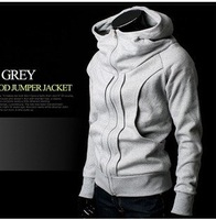 High collar coat 2012 arrival top brand men's jackets,men's dust coat,men'soutwear Color men hoodies and sweater