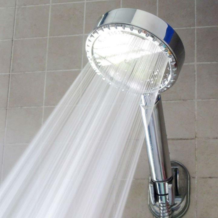 new hand shower water saving shower head filter pressurize boost rain shower easily cleaned in. Black Bedroom Furniture Sets. Home Design Ideas