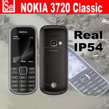 Nokia Original 3720C Brand Unlocked Phone waterproof ip54 3720 Classic, 2MP Camera Free Shipping