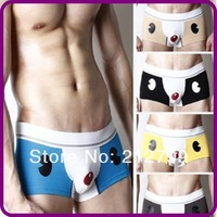 men 's Boxers Briefs shorts, men' s Underwear, fashionable cartoon Underwear,Free Shipping!
