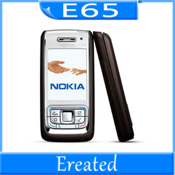 Nokia E65 Mobile Phone Unlocked Original Nokia E65 Gsm Cell Phone Quadband 3G WIFI Bluetooth Email Mp3 Cellphone(China (Mainland))