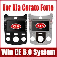 """8"""" Car DVD Player for Kia Cerato Forte Manual Air-Conditioner 2008-2012 w/ GPS Navigation Radio TV BT USB SD AUX 3G Audio Stereo"""