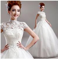 freeshipping Royal princess sweet lace royal tube top the bride wedding dress formal dress 2014 .zkc uncle 3010
