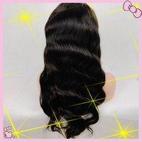 Custom order body wave Peruvian virgin  human hair U shape full lace wigs