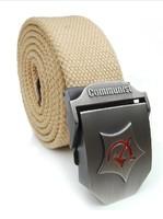 2014 hot sale men belt thicken canvas Communist military belt fashion Army tactical belt high quality strap   MB029
